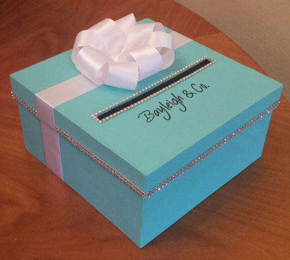 Gift Card/money Box. Square Box In A Size 10x10x5. Free