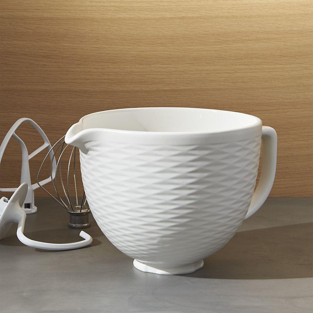 kitchenaid ceramic bowl mixer