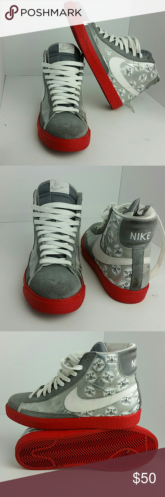 new product 3a3bc 67435 NIKE BLAZER HIGH OHIO STATE VERY CLEAN INSIDE-OUT SKE   TUB NIKE Shoes  Athletic Shoes