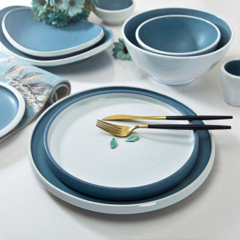 Tell Us When You Wanna Contemporary Chinese Blue And White Dinnerware Tc21 Https Www Blue And White Dinnerware Ceramic Dinnerware Set Porcelain Dinnerware