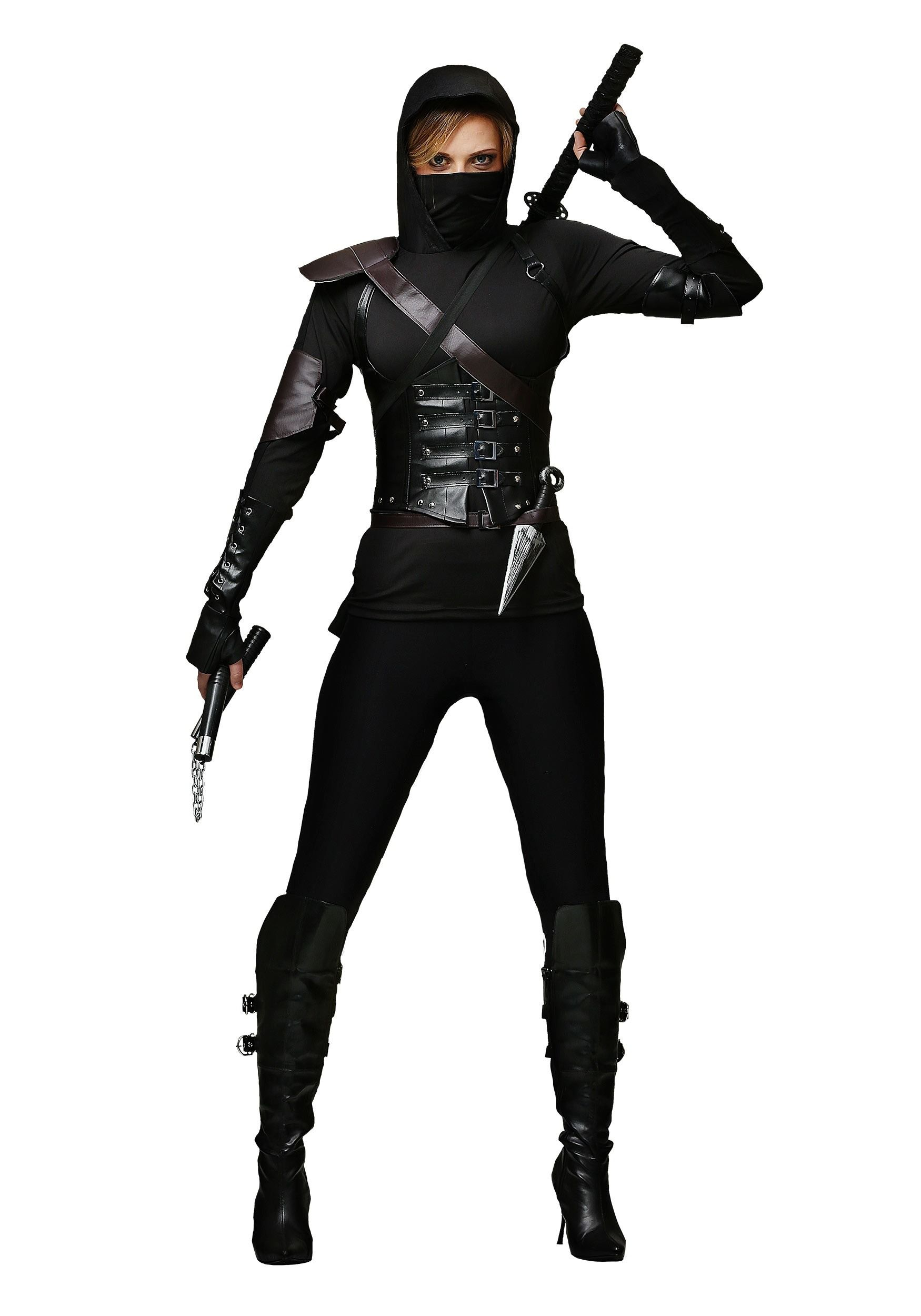 cf63bebd3 This Women's Ninja Assassin Costume is an exclusive design that will  transform you into a sneaky foe.