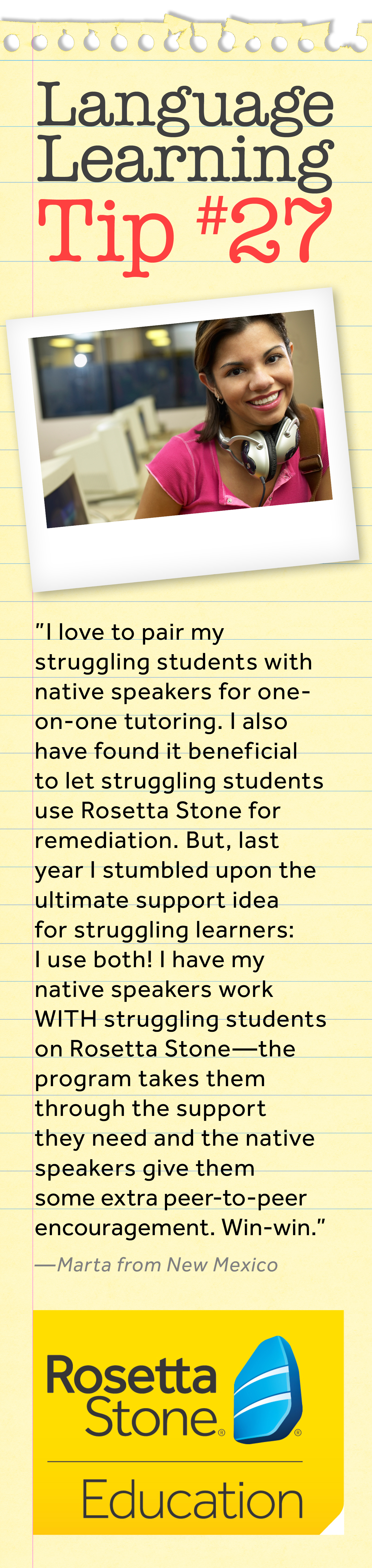 We Love This Tip For Helping Struggling Students From A
