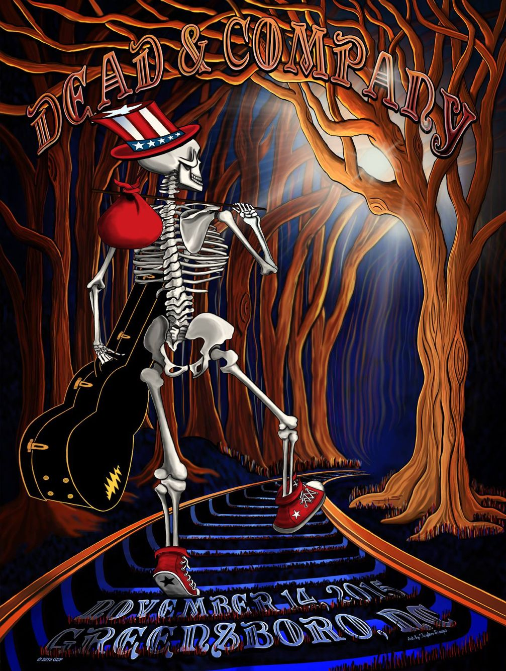 A new generation of beautiful dead art Dead and Company