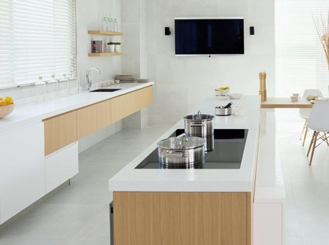 Cuisine design epuree porcelanosa kitchen pinterest for Porcelanosa cuisine