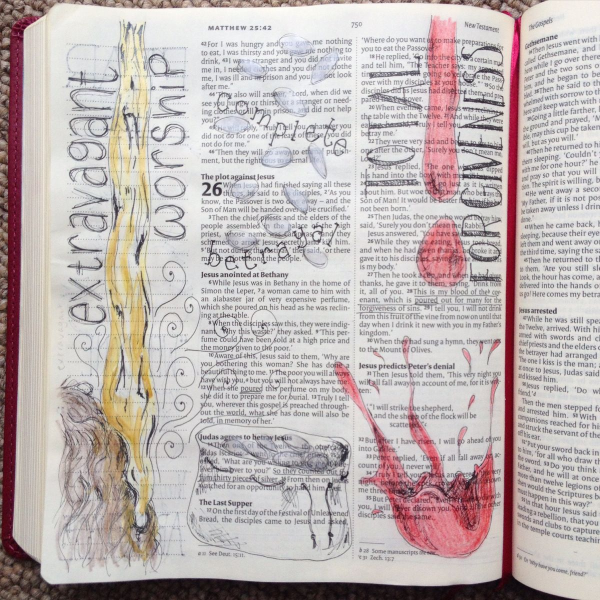 Betrayal and Denial - a Bible Study | Page 2 | Talk Jesus