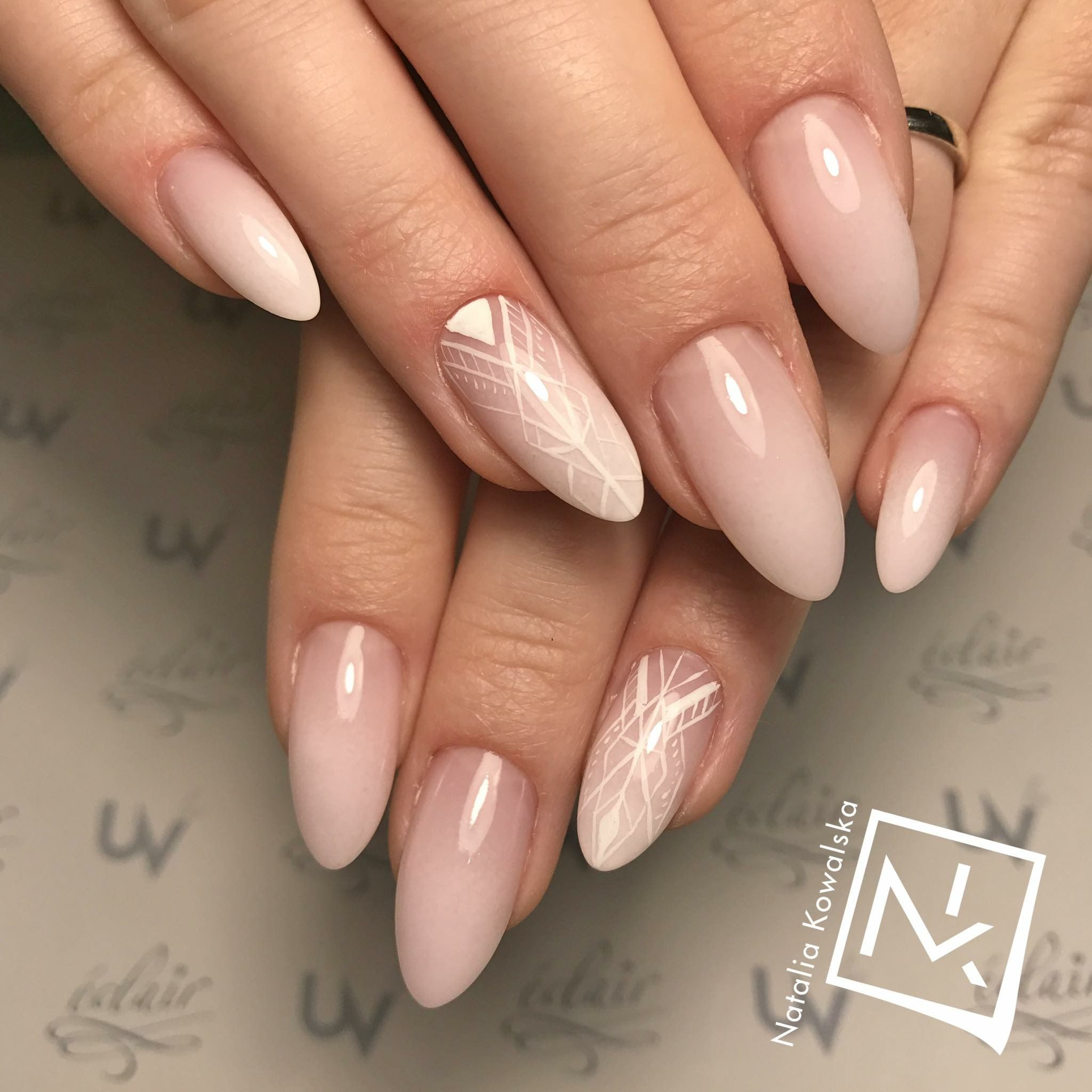 Manicure Paznokcie W 2019 Wedding Nails Bride Nails I Manicure