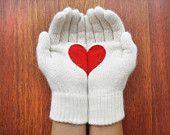 Valentine gloves