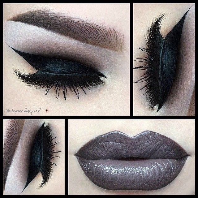 ☠ X†iNA  @depechegurl • Dramatic Liner ...Instagram photo | Websta (Webstagram)