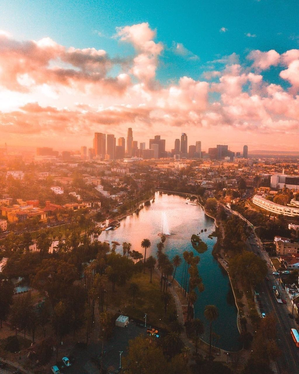 Echo Park Los Angeles California By Kyle Munson By Californiafeelings Com Cal Los Angeles California Photography Los Angeles Photography California Photography