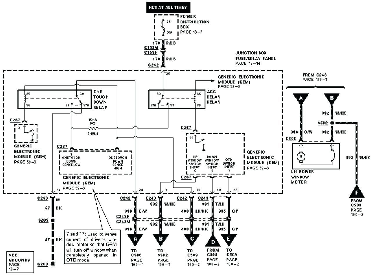 Throttle Position Sensor 1994 Mustang Wiring Diagram