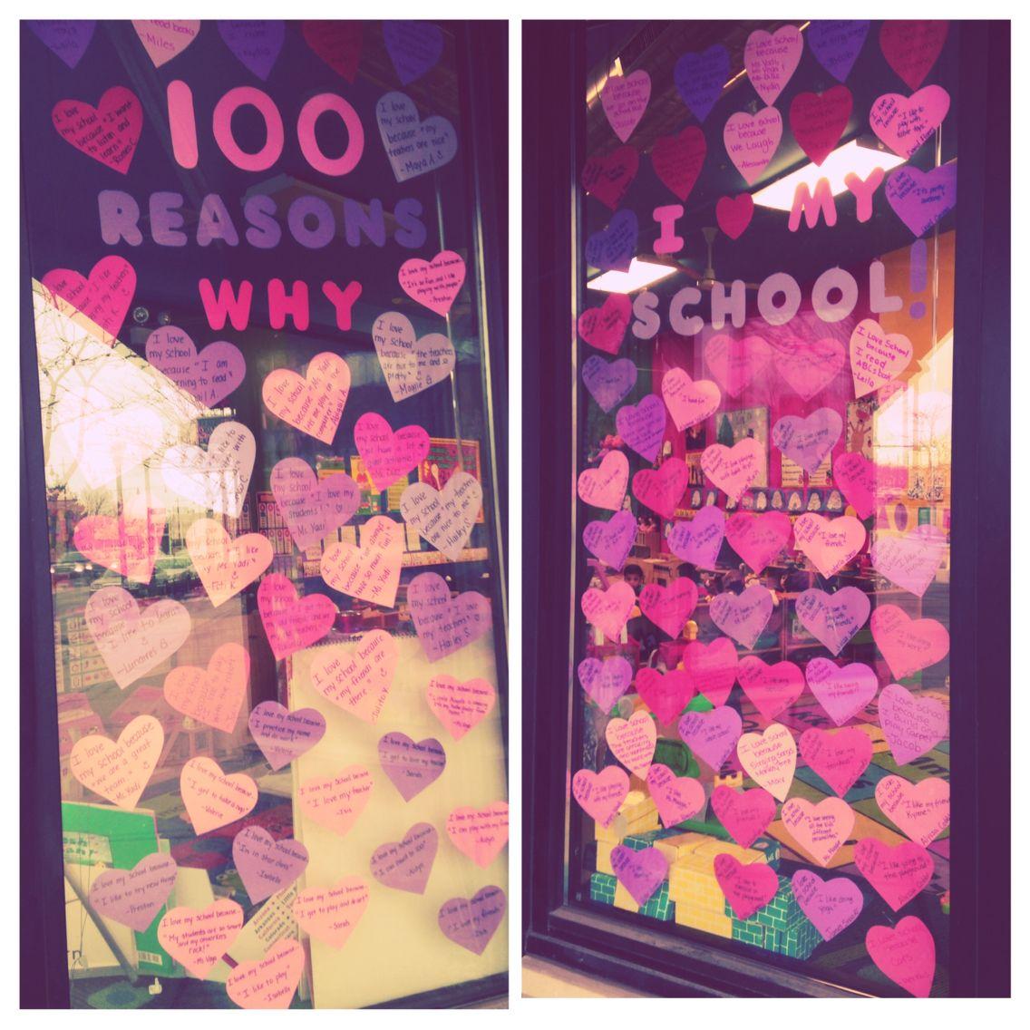 100 Reasons Why I Love My School