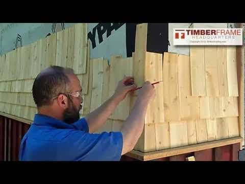 Best How To Install Cedar Shingles With A Weaved Corner 400 x 300