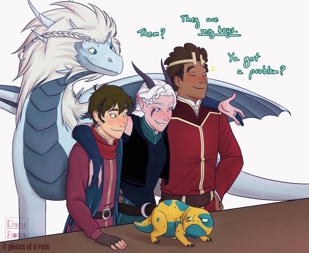 Her Boys By Pieces Of A Rose On Deviantart Dragon Princess Dragon Tales Prince Dragon