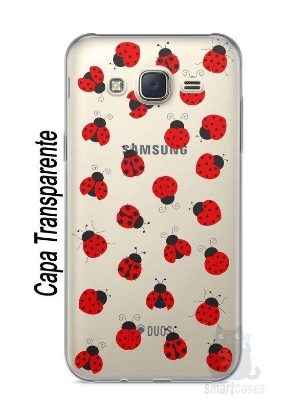 Capa Capinha Samsung J7 Joaninhas #1 - SmartCases - Acessórios para celulares e tablets :)