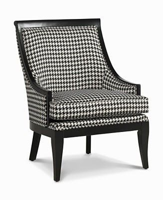 Refinishing A Few Chairs With Houndstooth Furniture Upholstery