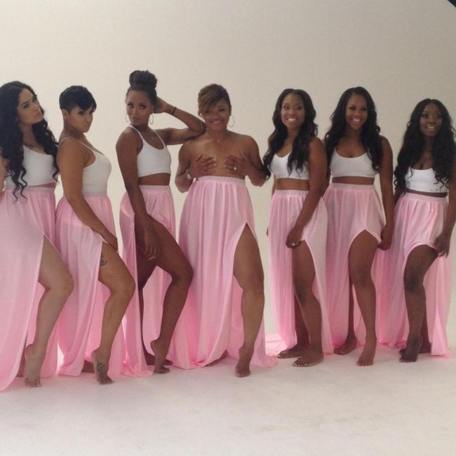 Eva Marcille, Emily B, Ravaughn and more shoot for breast cancer awareness