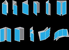 Brochure Folds #print | Graphic Design | Pamphlet design