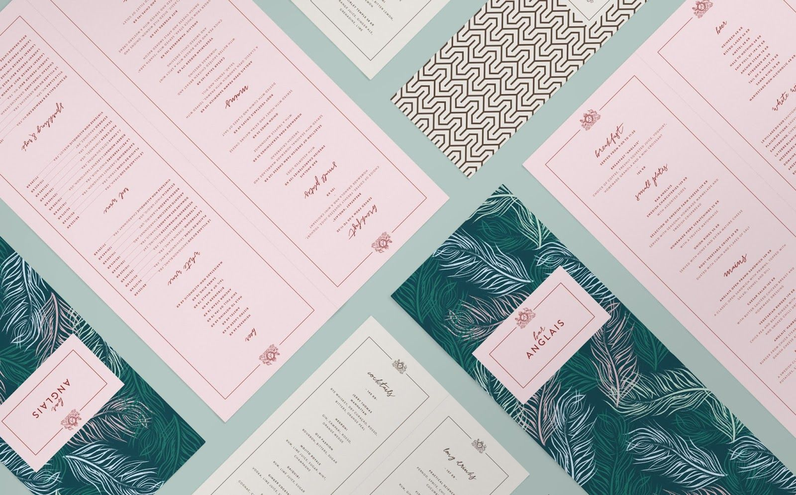 Good design makes me happy: Project Love: Bar Anglais | Graphic ...