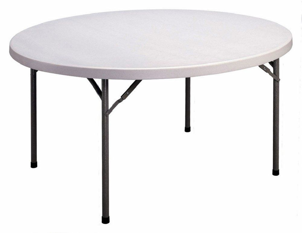 Correll Cp60 60 Round Blow Molded Plastic Folding Table Sale