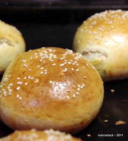 Pains Burger Rapide Recette Plat Hamburger Brioche Et Bread
