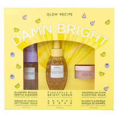 Glow Recipe Let It Glow Set Gentle Cleanser Skin Care Watermelon Glow Sleeping Mask