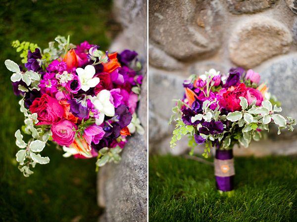 Lila Laune  Brautstrau und Blumen  Brautstrau fuchsia Hochzeit herbst und Brautstrue