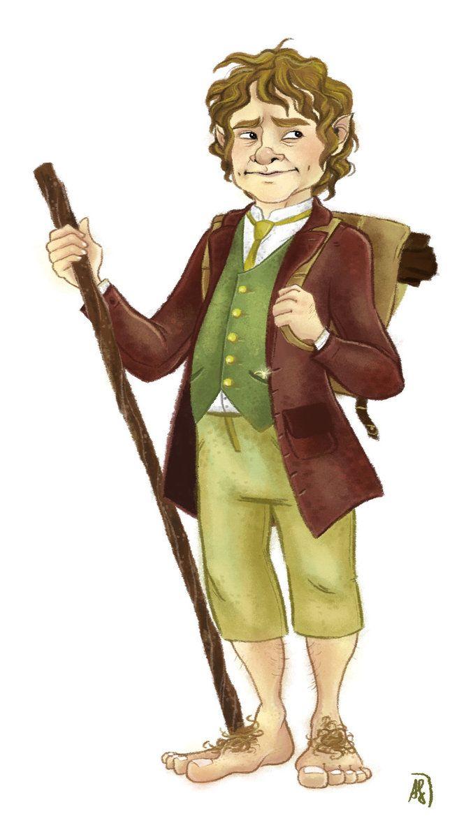 the hobbit character analysis of bilbo The hobbit by j r r tolkien is a rich fantasy world with great characters - from the main character bilbo baggins to supporting characters like.