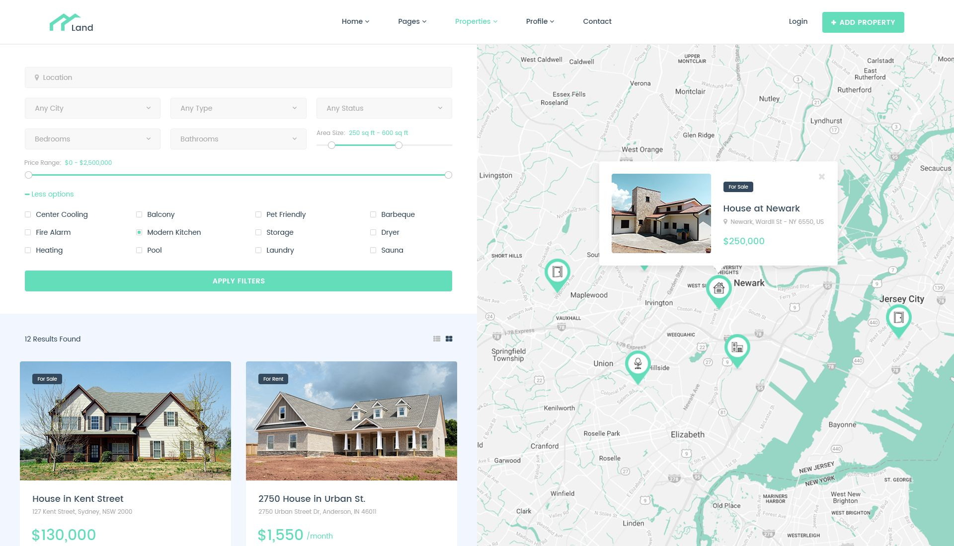Land Real Estate Property Listing Psd Template Property