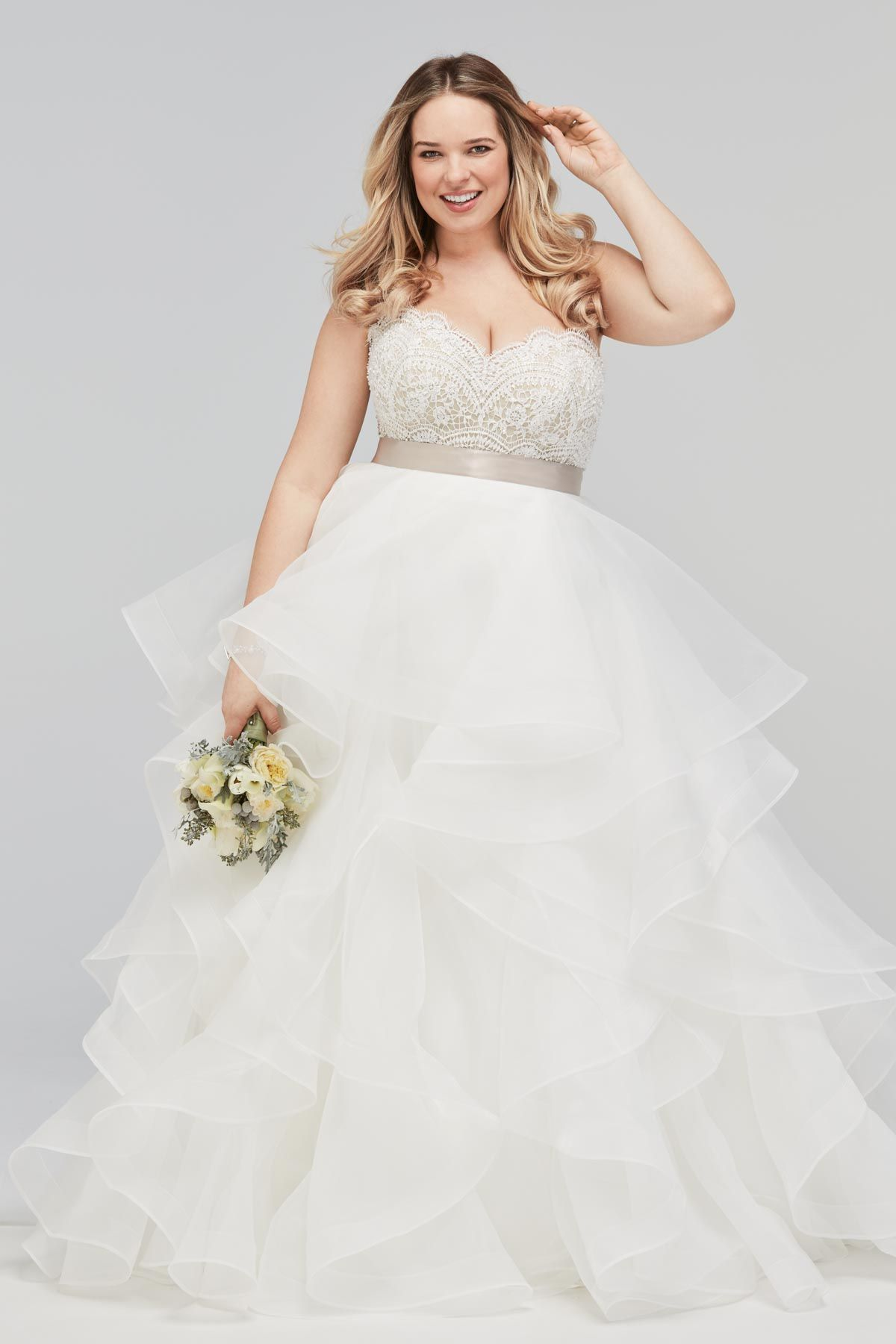 Plus Size Bridal Gown - the Bree Corset with the Almira Skirt by ...