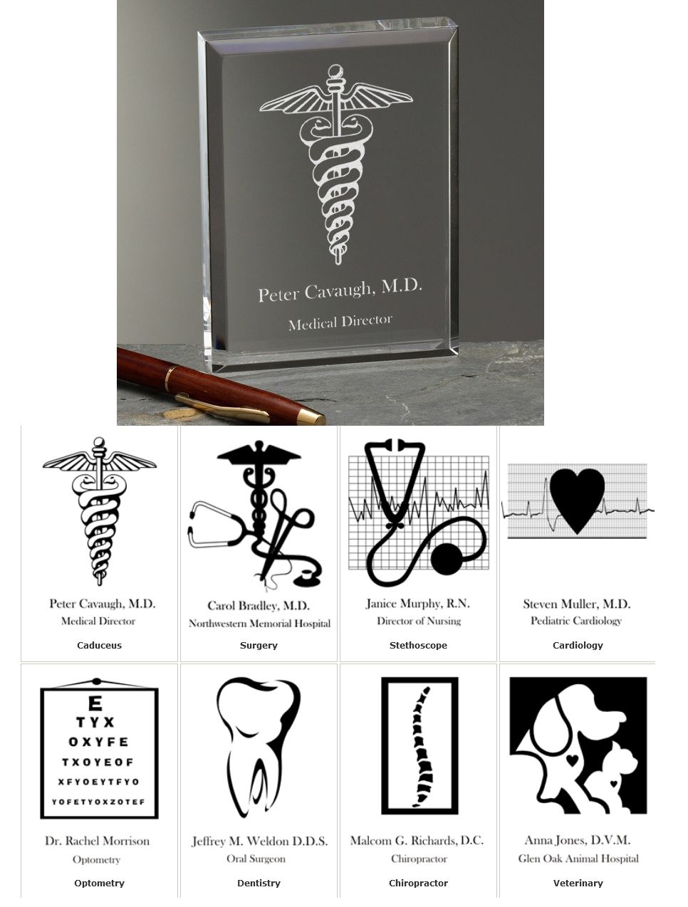 medial specialty paperweight choose from 8 medical specialties and personalize it with any 2 lines for only 1995 great gift idea for new doctor