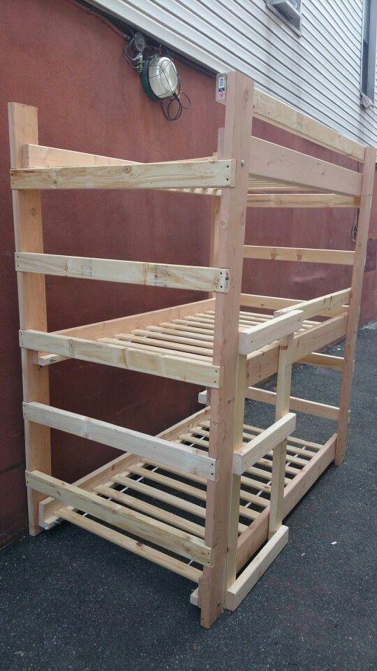 Best Three Tier Bunk Bed Kids Bunk Beds Bunk Beds Triple 640 x 480