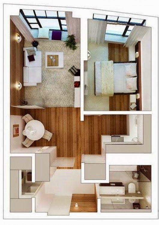 Decorating A Small Apartment \u003e\u003e\u003e It Is Difficult Or Easy? ~ Goods