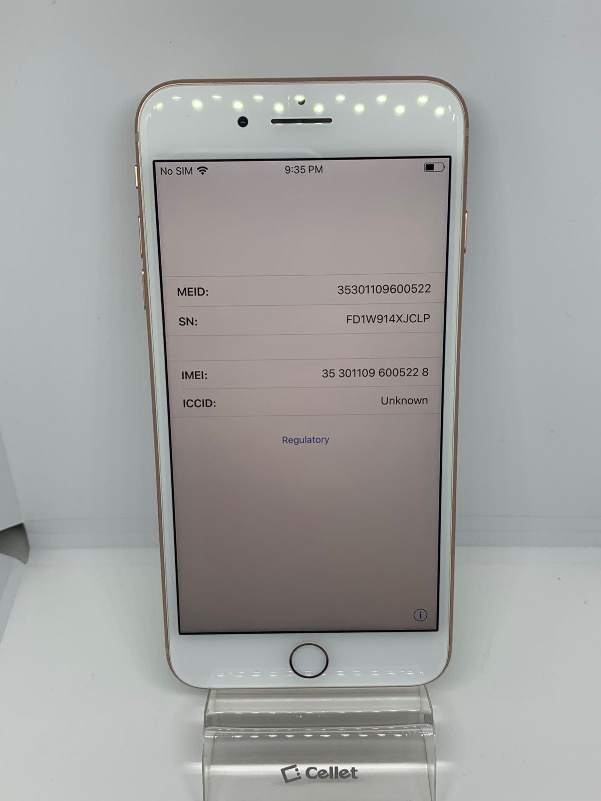 Apple Iphone 8 Plus 256gb Really Good Condition Icloud Locked Bad