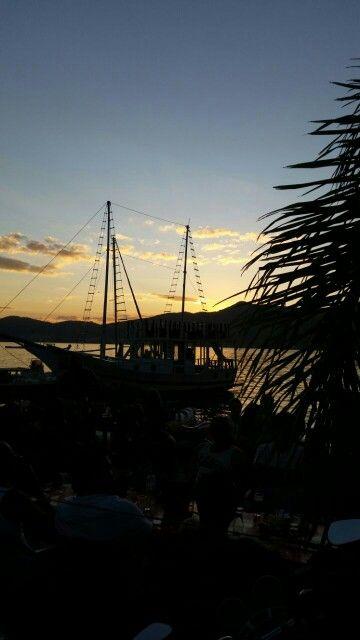 Por do sol Lagoa da Conceição Florianópolis