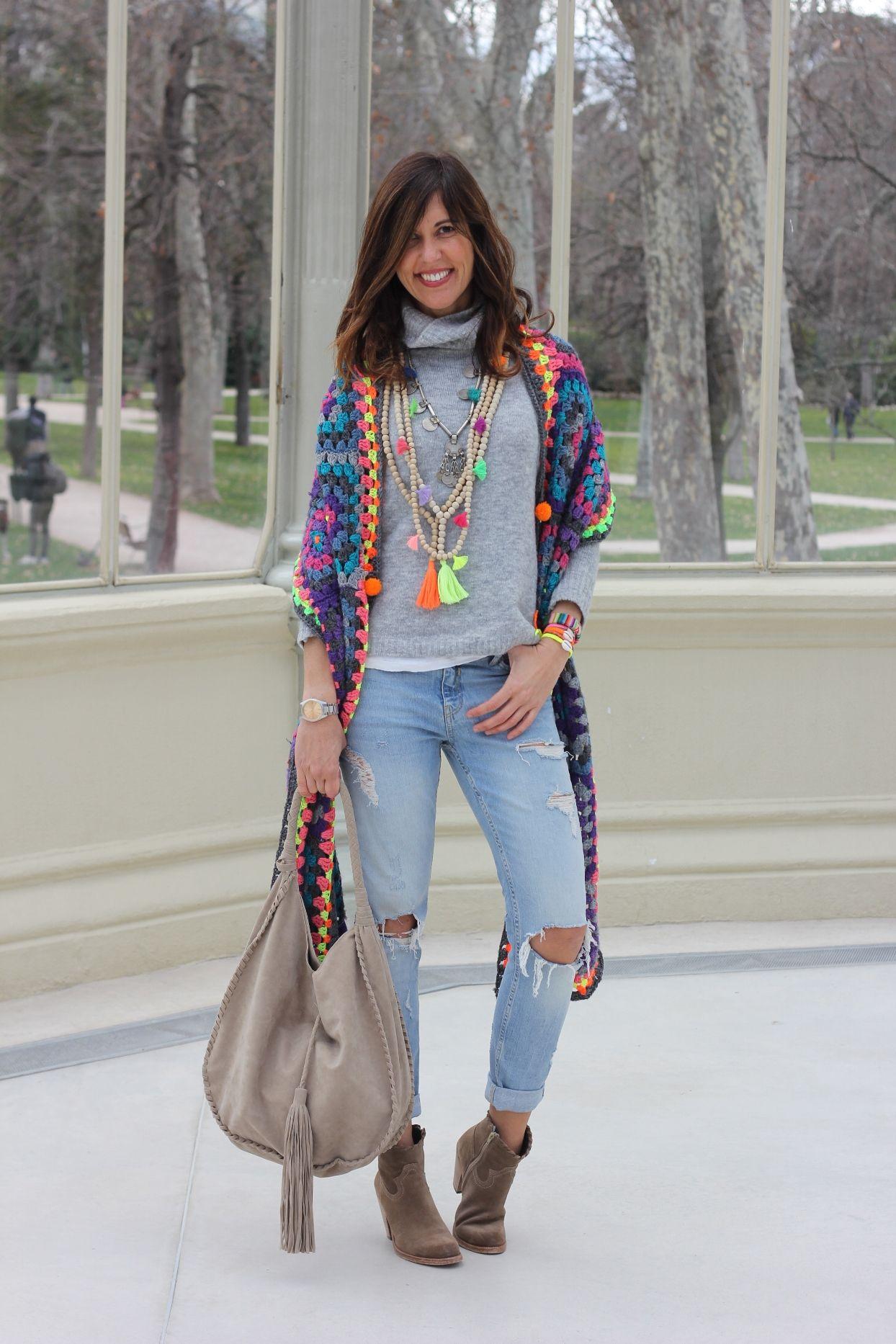 Redada cuidadosamente eficaz  trend alert: crochet - mytenida | Moda, Ropa, Moda hippie chic