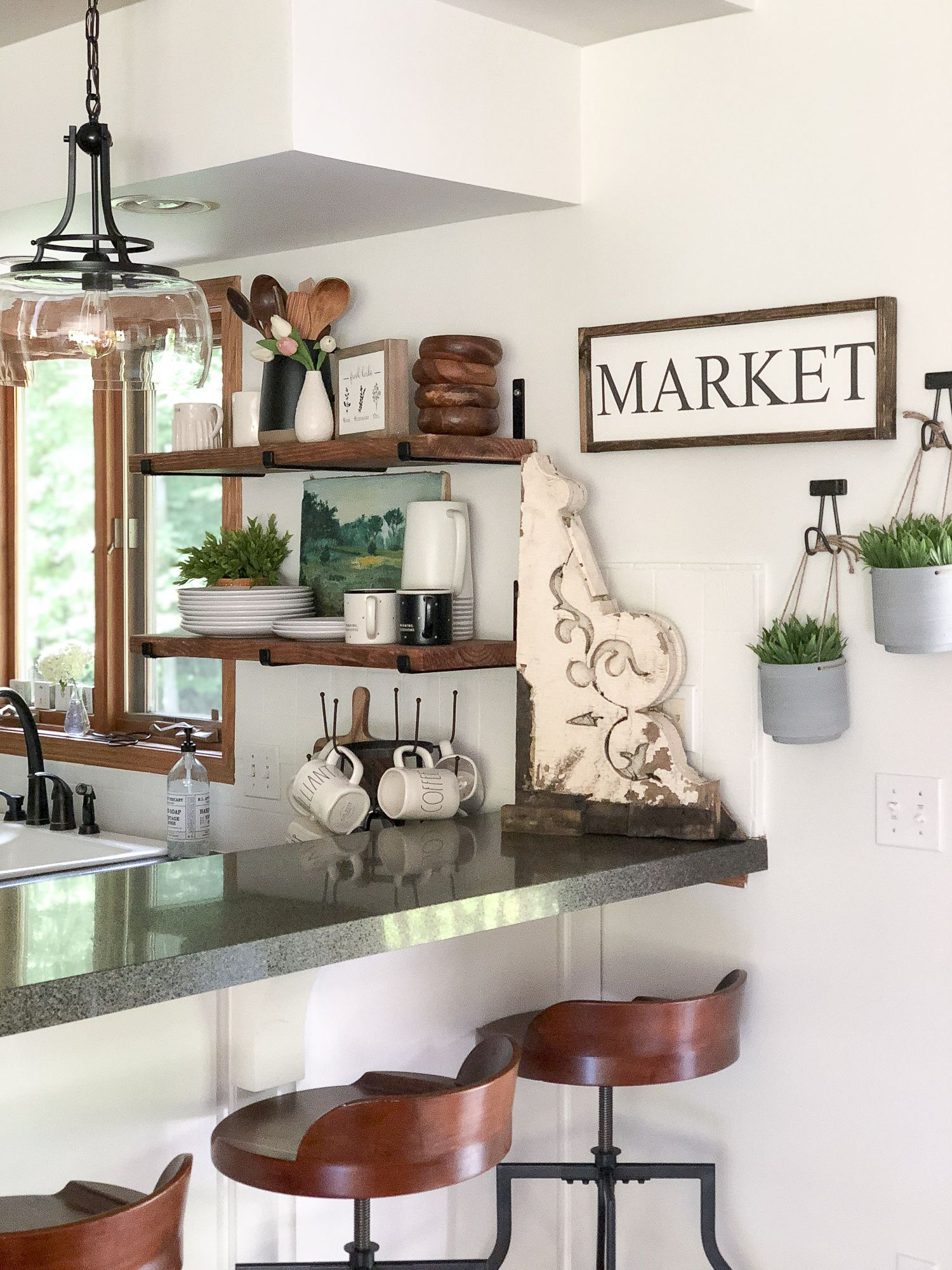 diy open shelving tutorial with free guide grace in my space blog diy kitchen decor green on kitchen ideas quirky id=62760