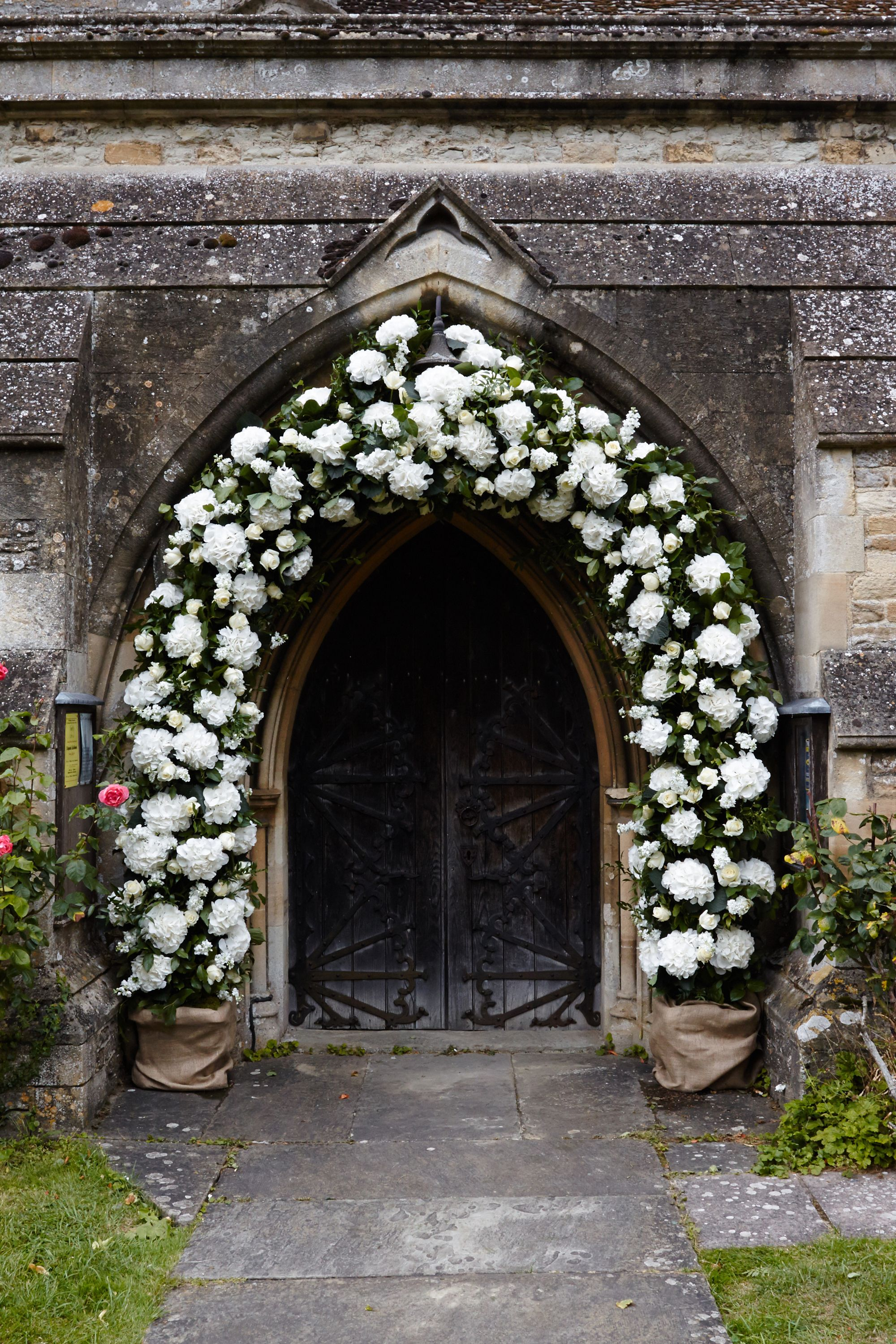 Sumptuous white flower arch fabulous flowers oxford satin sumptuous white flower arch fabulous flowers oxford mightylinksfo