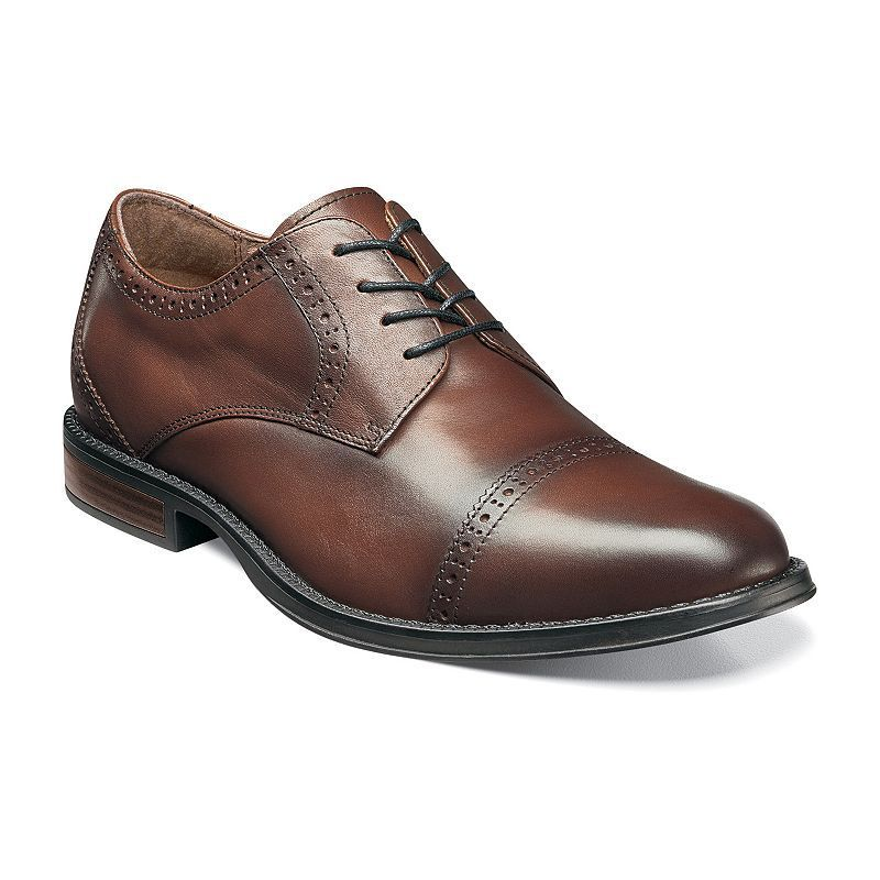 Nunn Bush Ridley Men's Cap-Toe Oxford Dress Shoes, Size: medium (11.5