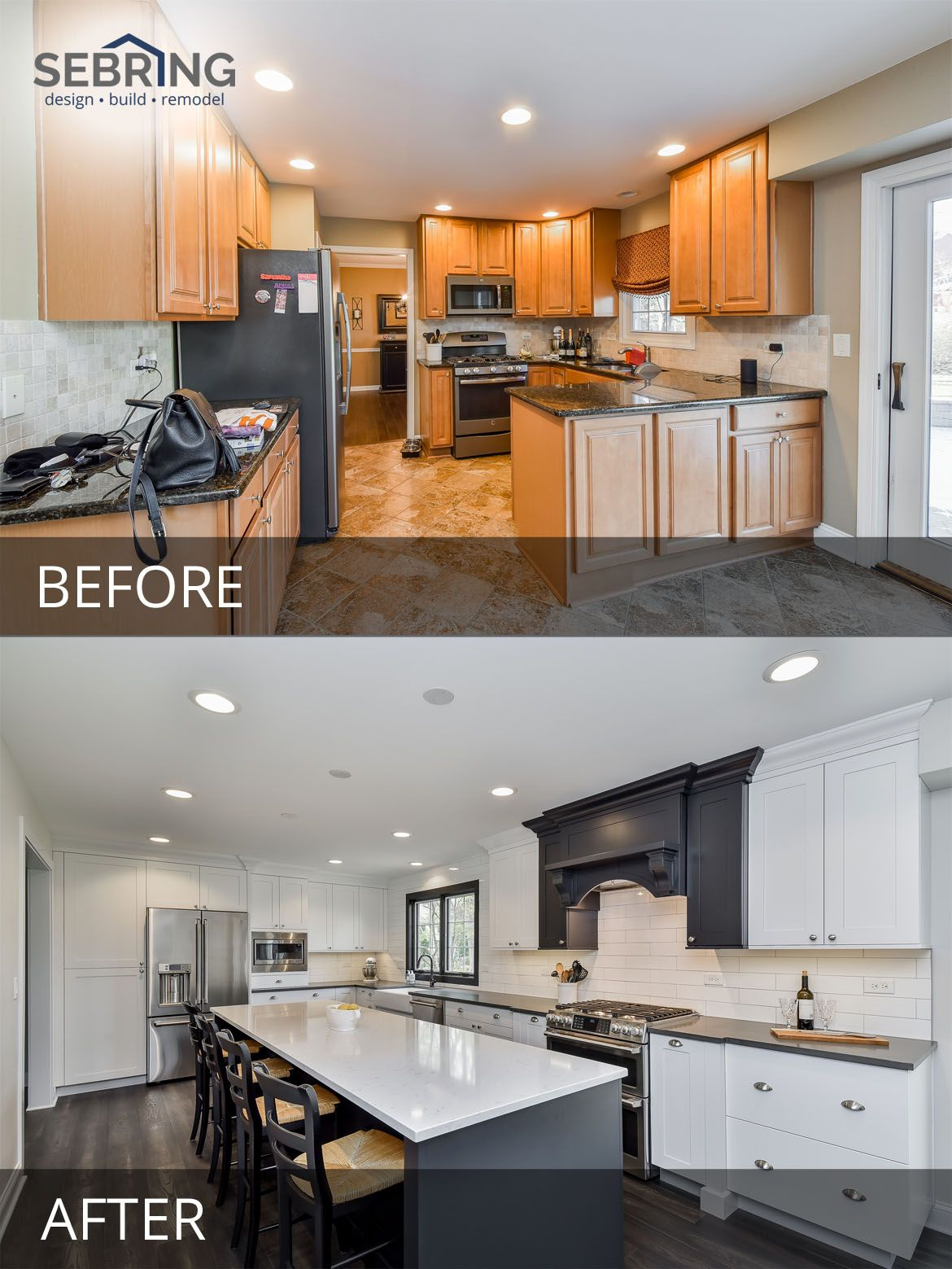 Tom Marcy S Kitchen Before After Pictures Home Remodeling