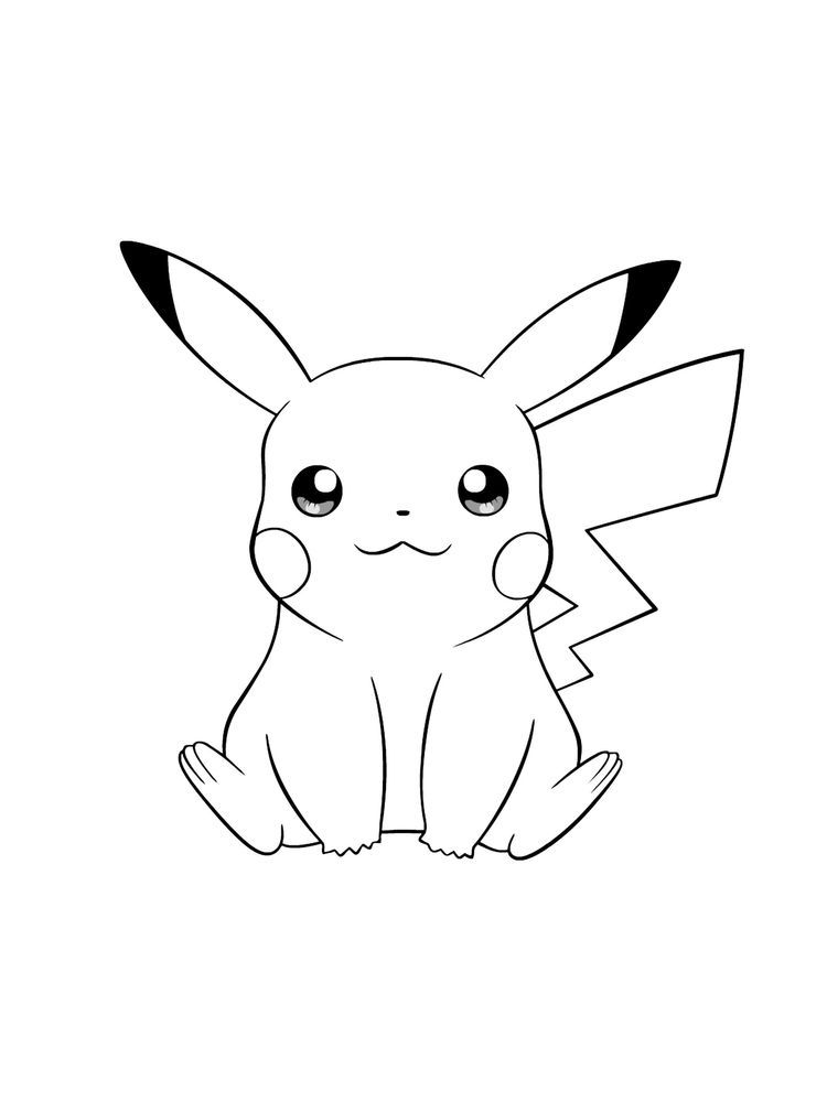 Pokemon Buneary Coloring Page Following This Is Our Collection Of Pokemon Coloring Page You Are Pokemon Coloring Pages Pokemon Coloring Pikachu Coloring Page