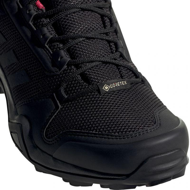 Sportowe Damskie Adidas Czarne Buty Trekkingowe Adidas Terrex Ax3 Gtx W Bc0572 Adidas All Black Sneakers Hiking Shoes