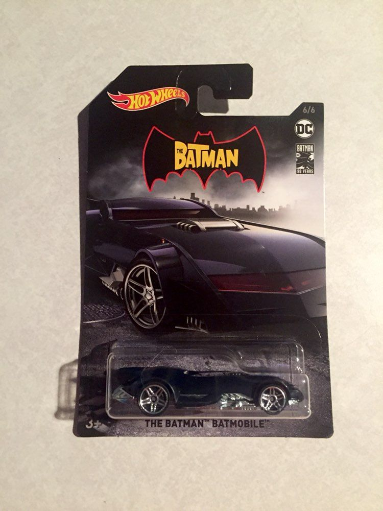 HOT WHEELS 2013 THE BATMAN BATMOBILE HW CITY 61//250