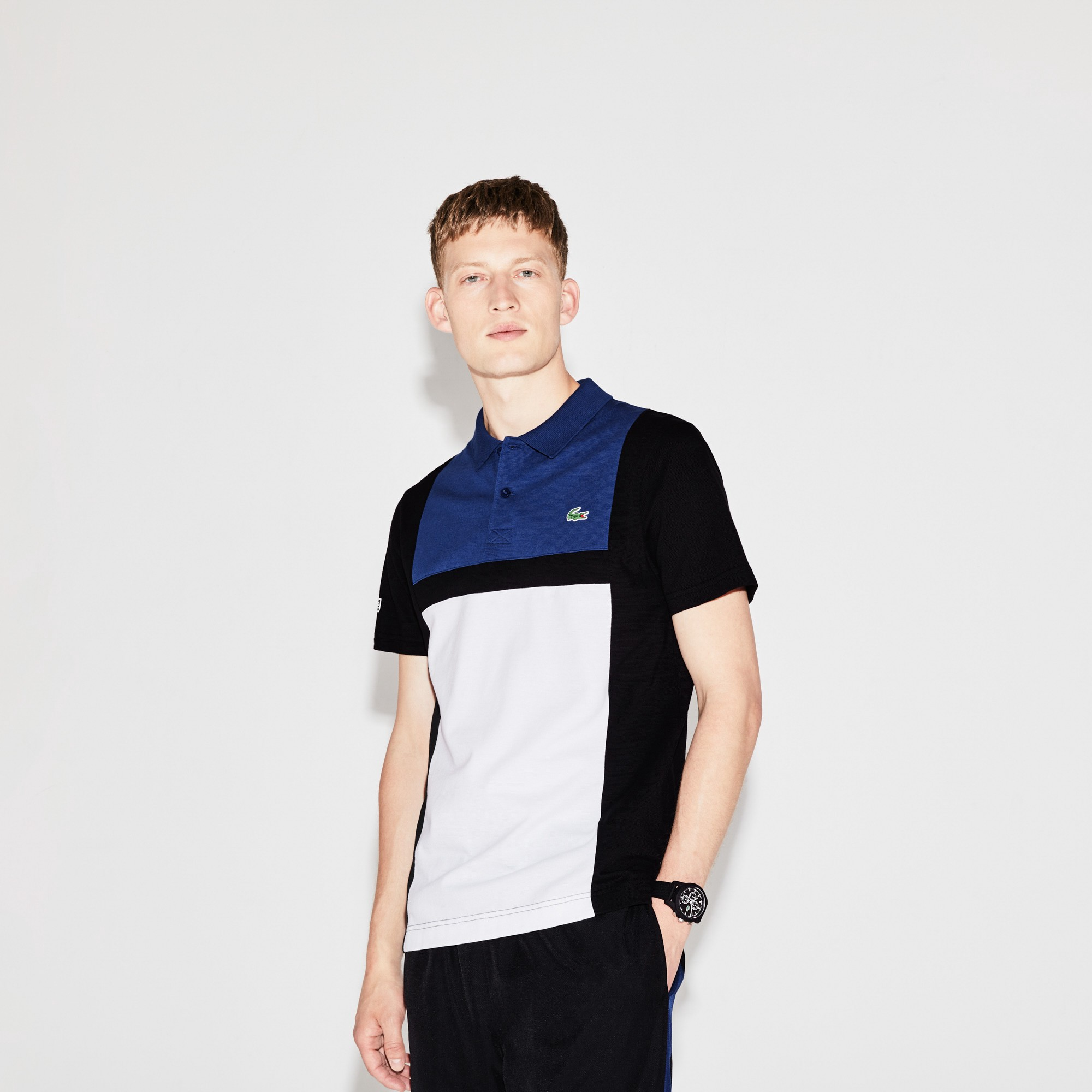 fa019093 Lacoste Men's Sport Tennis Colorblock Ultra-Light Cotton Polo ...
