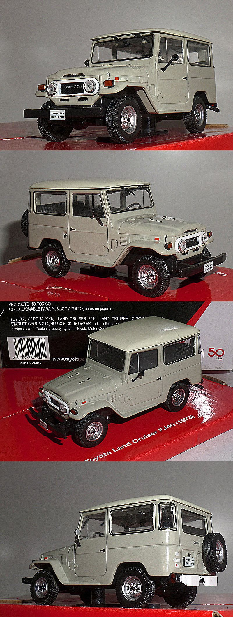 Toyota 50 Anos 1 43 Land Cruiser Fj40 1973 Other Diecast Ebay Vehicle Accs 7315 Buy It Now Only 365 On