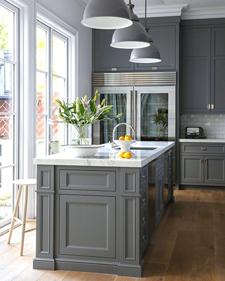 Advanced Light Gray Kitchen Cabinets With Dark Gray Walls Only On Indoneso Com Grey Kitchens Grey Kitchen Designs Grey Kitchen