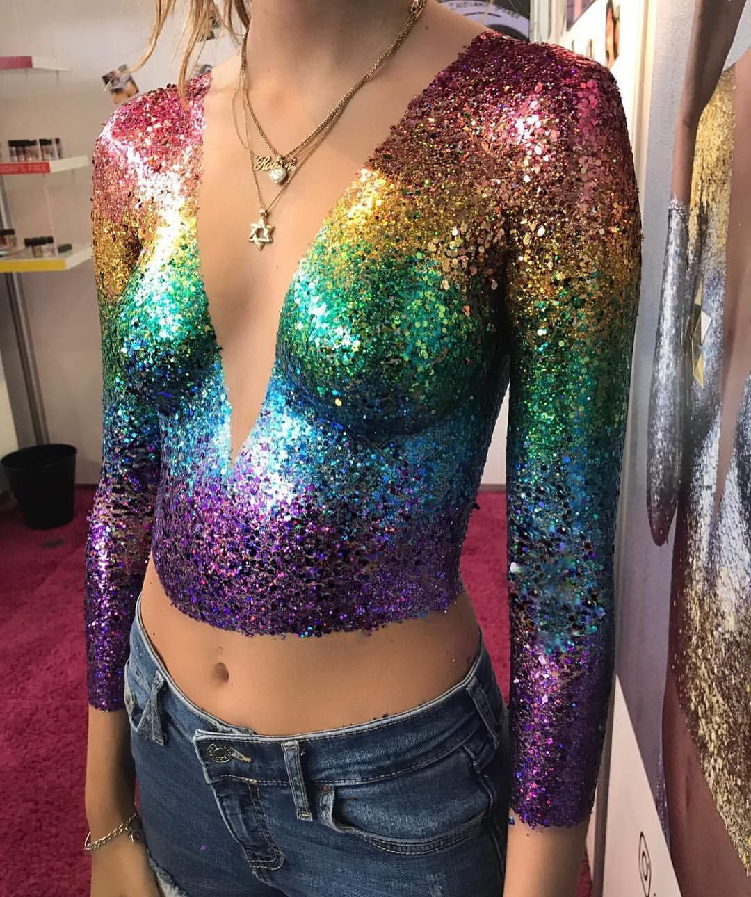 32651166031473550 Glitter Outfit Pride Outfit Festival Glitter