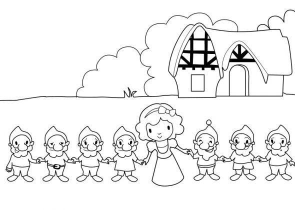 Blanche Neige Et Les 7 Nains Blanche Neige Blanche Neige Et Les