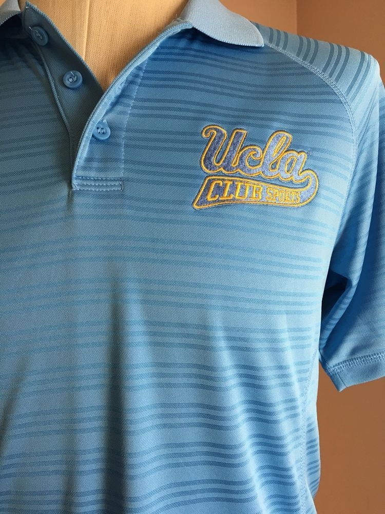 5ae75cdcd UCLA Bruins Adidas Climalite Blue Polo Shirt Golf NCAA Father Day Size  Small  NCAA  ShirtsTops