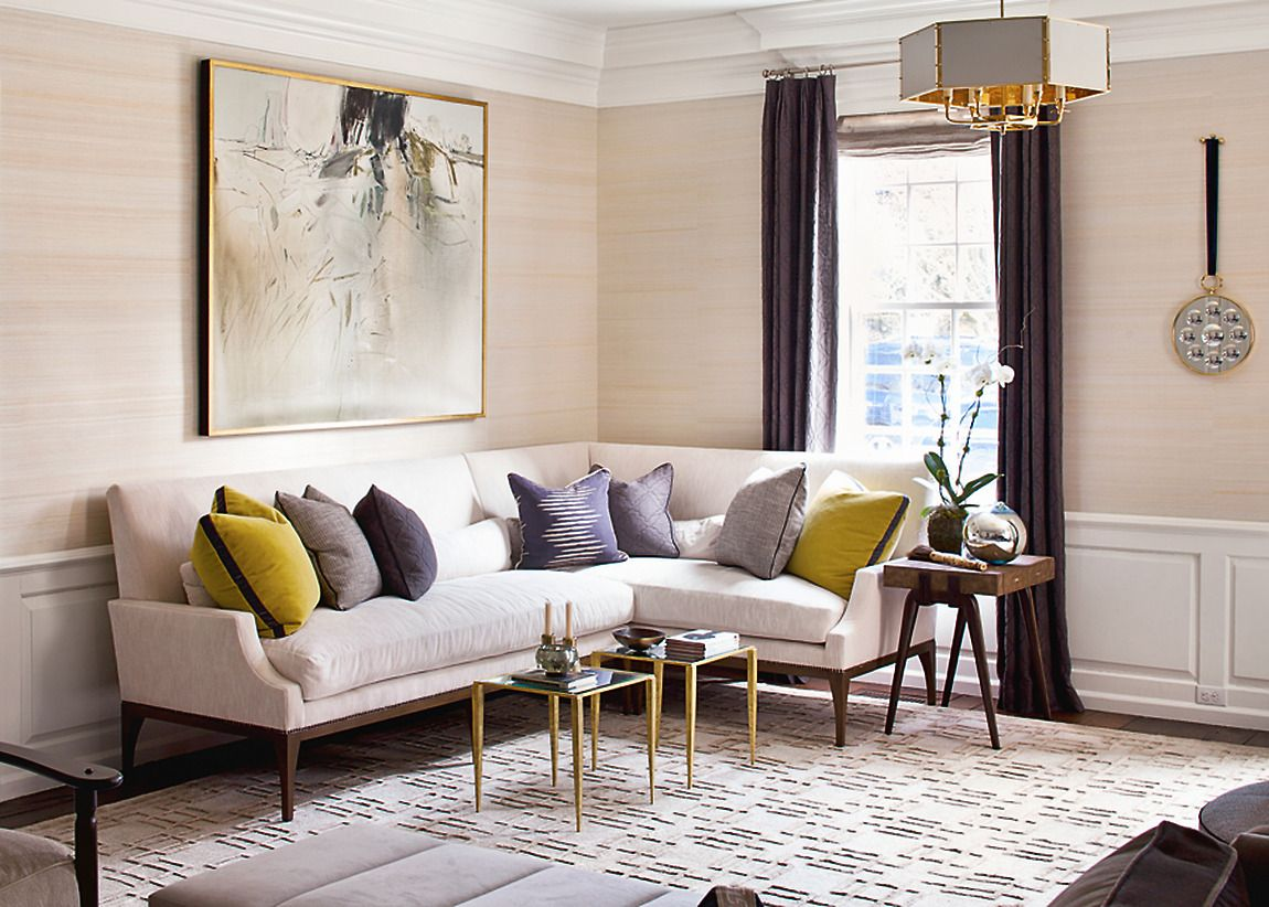Designer Gallery  Grasscloth Wallpaper  Natural Wallcoverings Custom Living Room Design Planner Decorating Design