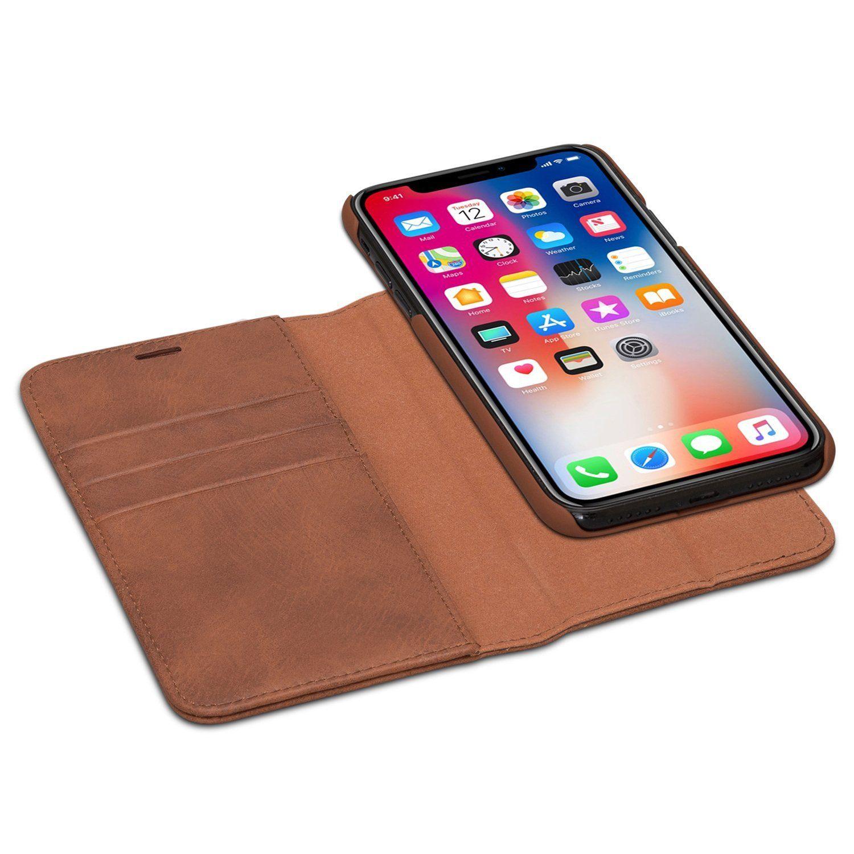 Caseza zurich detachable wallet case for the iphone x